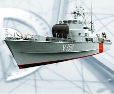 """Model Boat Plans VICKERS VEDETTE    R/C 31"""" Ship Full Size Printed Plans & Notes"""