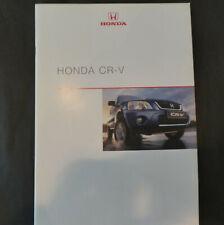 Honda CR-v ❌  Prospekt  08/2000❌#L125