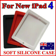 Silicone Rubber Case Skin Cover For iPad 4 4th Retina Display-ChocolateBean Home