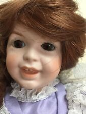 Laughing Jumeau Girl Doll Sfbj 236 14 inch Reproduction -All Porcelain