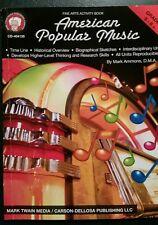 American Popular Music - Fine Arts Activity Book for Grades 5-8