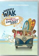 RARE Wickety Wak Live 2007 DVD signed by band members