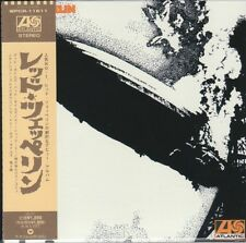Led Zeppelin 6 TITLES WARNER MUSIC JAPAN MINI LP CD SET Jimmy Page, Robert Plant
