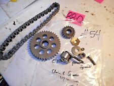 1995 ARCTIC CAT EXT 580 POWDER SPECIAL 40T & 19T sprocket gears + chain
