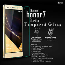 100% Genuine Tempered Glass 9H Screen Cover Protector Guard for Huawei Honor 7