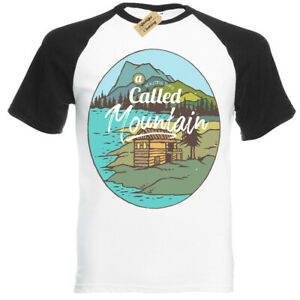 Mountain Tavern T-Shirt beautiful place Short Sleeve Baseball