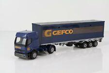 """Majorette Renault Premium Koffersattelzug """"Gefco"""" Maßstab 1:55 /MA1"""