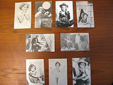 Vintage Lot of 10 Shirley Temple Celebrity Photos Black White Sepia Bojangles