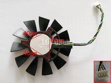 Sapphire HD7770 7750 Platinum Edition 4-pin Universal fan FS1290-AP084C 12V 0.3A