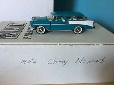 Franklin Mint Chevrolet Nomad 1956 white/turquoise 1:43