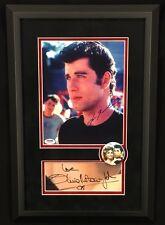 GREASE John Travolta And Olivia Newton John Signed PSA Autographed Signature