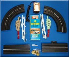 ATLAS HO SLOT CAR RACING SIX IN ONE PRETZEL TRACK SET 1203 READY TO RACE NO CARS