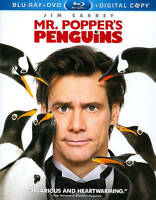 Mr. Poppers Penguins (Blu-ray/DVD, 2011, 3-Disc Set, Includes Digital Copy)