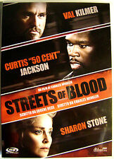 DVD STREETS OF BLOOD with 50 Cent and Sharon Stone Used
