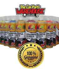 "GOLD Rubber Aerosol Paint Wrap "" plastic dip "" (Spray on, Peel Off) GOLD Carlas"