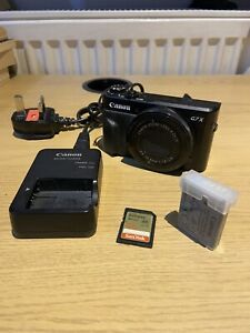 Canon PowerShot G7x Mark II + 32GB SD CARD + Extra Batteries + Charger!