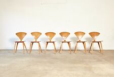 A set of 6 Norman Cherner Chairs, made by Plycraft in the USA, 1960s