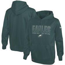 Philadelphia Eagles NFL Pullover Combine Team Pride Hooded Sweat Shirt