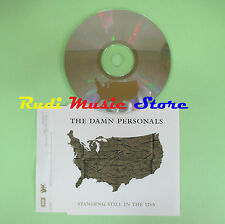 CD singolo THE DAMN PERSONALS standing still in the usa 2002 usa BWR 0252 (S17)