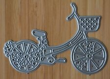Metal Cutting Die - LADIES BICYCLE With Basket Detailed (Transport)