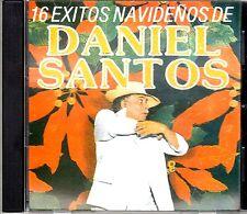 """DANIEL SANTOS - """" 16 EXITOS NAVIDEÑOS"""" - CD"""