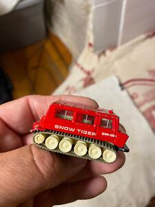 Estate Vintage Tomica No 84 Ohara Snow Tiger Truck # 37