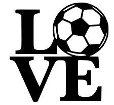 Love Football Decal / Sticker