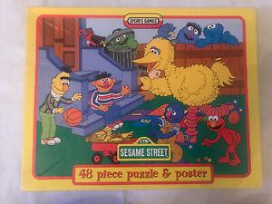 Sesame Street Vintage Puzzle 1996