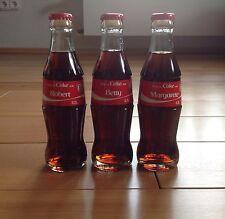 Coca Cola Flasche mit Namen, Neu