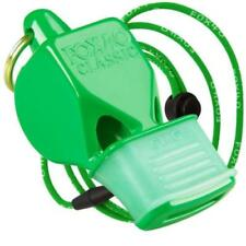 Fox 40 Classic CMG Whistle w/ Lanyard - Referee Coach Safety Alert Rescue, Green