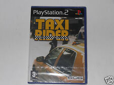TAXI RIDER Pour PLAYSTATION 2 TRÈS RARE & HARD TO FIND""