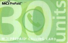 7-Scheda telefonica Phonecard MCI Prepaid 30 Units