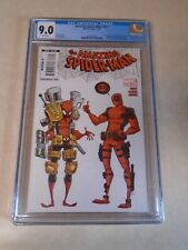 The Amazing Spider-Man Issue #611 Comic Book. CGC Graded 9.0. Skottie Young