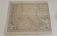 Antique map of Macedonia