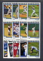 2004 Topps Los Angeles Dodgers TEAM SET