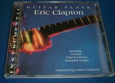 Guitar Plays Eric Clapton Corben Cassavette~UK Import Instrumental Cover Songs
