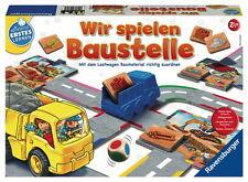 Ravensburger Spielend Erstes Lernen Farbzuordnungsspiel spielen Baustelle 24726