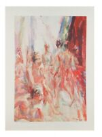 """""""Dancing"""" by Anthony Toney Lithograph on Paper Artist's Proof 26"""" x 19"""""""
