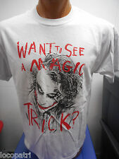 Men's DC Comics Originals Brand Joker Want to See a Magic Trick? Shirt New S