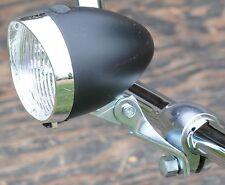 Black 3 LED HEAD LIGHT Vintage Schwinn Stingray Bicycle Cruiser Fixie Road Bike