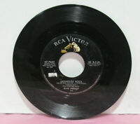 "Elvis Presley ‎– Jailhouse Rock/Treat Me Nice RCA Victor 47-7035 Vinyl 7"" 45 RPM"