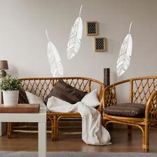 Bohemian Feather Wall Stencil, Reusable stencils for home interior decor