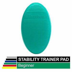 Theraband Stability Trainer Pad, Beginner Level Green Foam Pad, Balance Trainer
