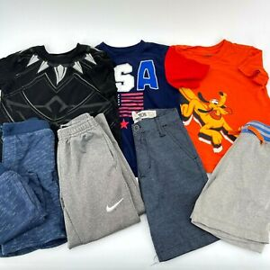 Boys Lot 5T Shorts Pants Tee Shirts Disney Black Panther Nike Hanna Andersson