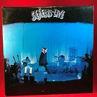 GENESIS Live 1975 UK Vinyl LP   Record Excellent Condition in concert  B