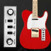 PREWIRED TELE LOADED WIRED FOR TELECASTER SWITCH GUITAR PLATE CONTROL PLATE