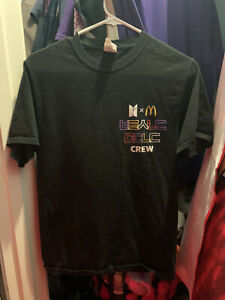 bts x mcdonalds crew t-shirt