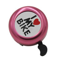 Metal Ring Handlebar Bell Alarm Horn Sound for Bike Bicycle Cycling Heart Patter
