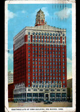 DES MOINES / IOWA (U.S.A.) EQUITABLE LIFE OF IOWA Building animé en 1921