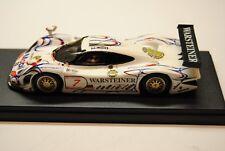 PORSCHE - 911 GT1 WARSTEINER MOBIL N 7 - BBR 1/43 montata (NO AMR - MG -Tameo)